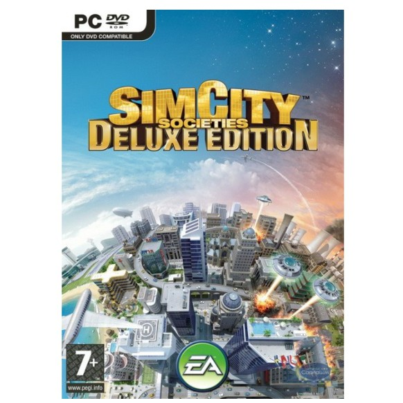 SIMCITY: SOCIETIES DELUXE EDITION [PC DIGITAL DOWNLOAD]