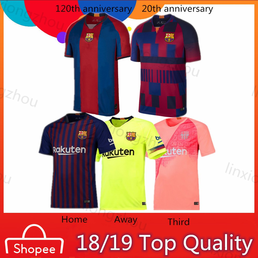 14f350c2e Barcelona jersey 19-20 training suit jersey Short sleeve football uniform