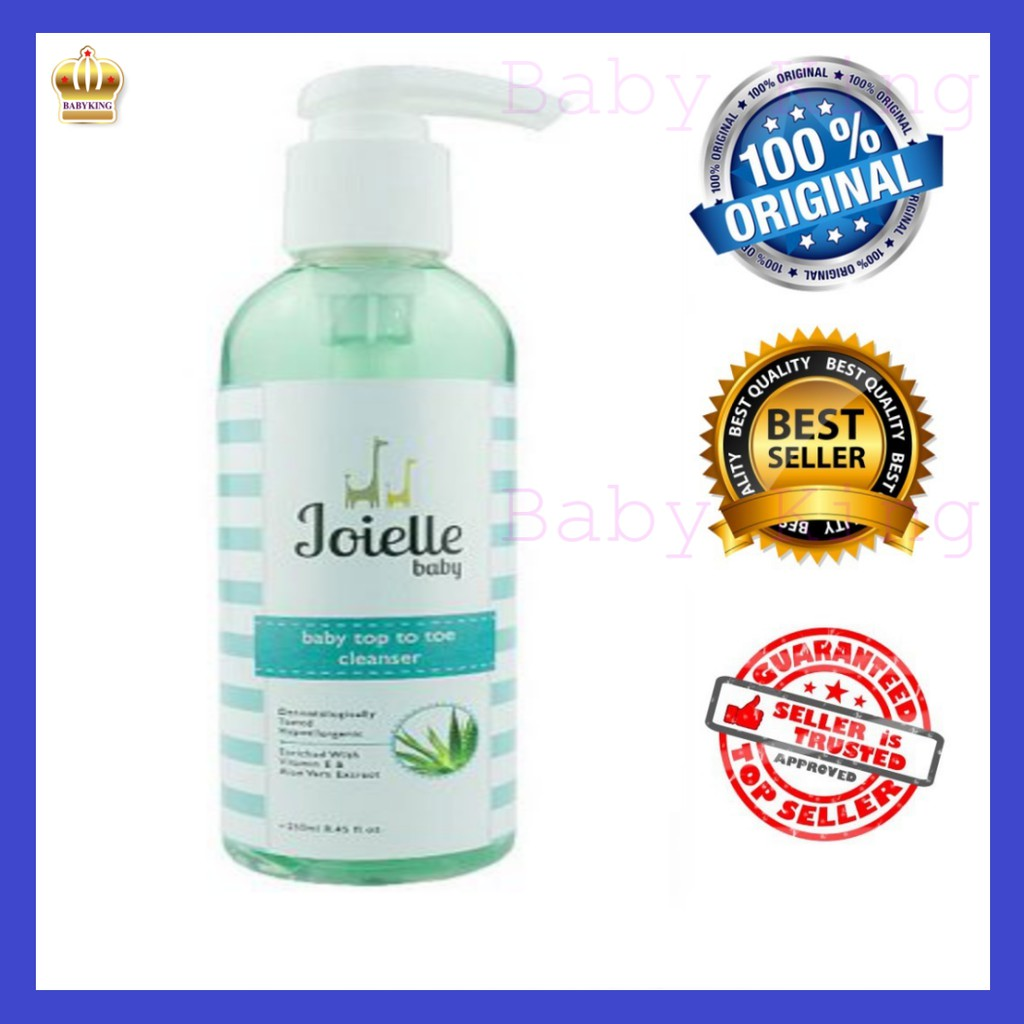Joielle Baby Top to Toe Cleanser (250ml)