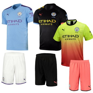 buy popular c23a7 1eddc High quality Manchester City home Manchester City second ...