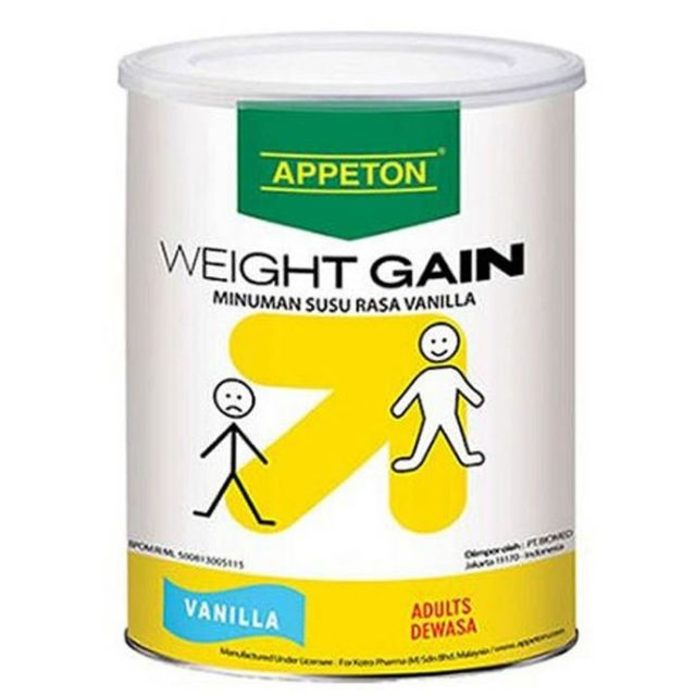 APPETON WEIGHT GAIN ADULT VANILLA (900G) [Exp: 04/2022]