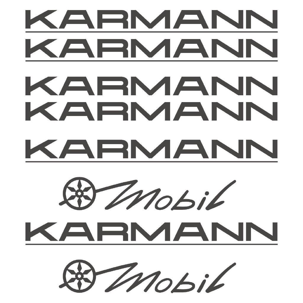 Karmann Aufkleber Sticker Wohnmobil Camper Wohnwagen Caravan