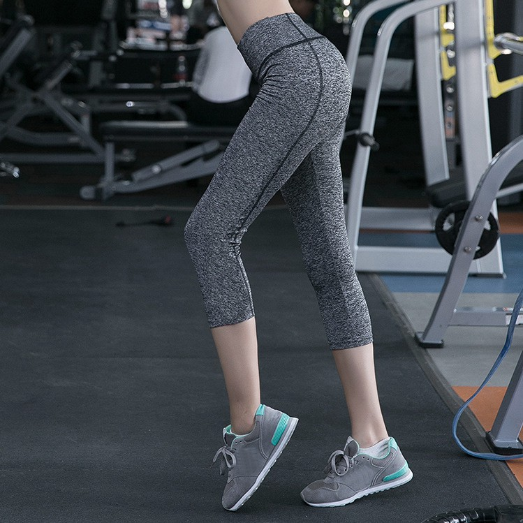 2d5c0a69d0992 ProductImage. ProductImage. Large Size Women Yoga Pants Solid Sports Running  Slim Fitness Gym Leggings