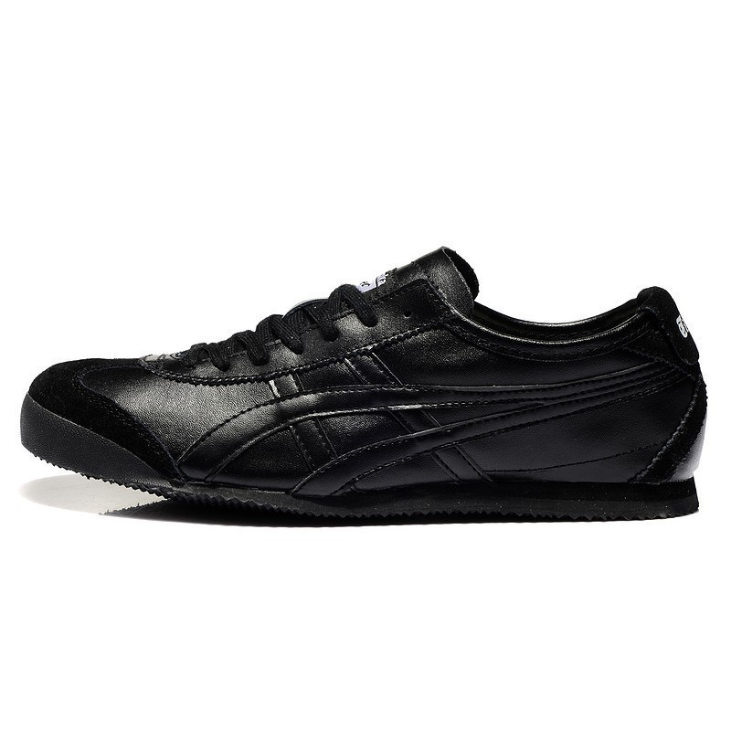 timeless design 7ea56 73acb Cusual shoes Asics/Onitsuka Tiger MEXICO 66 Full Black (Leather) Shoes  Men/Women