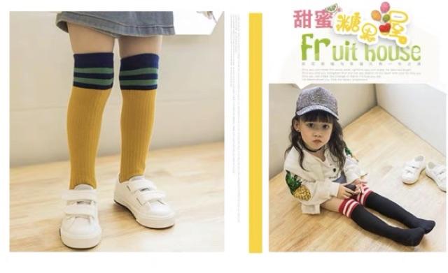 Baby Girls over the knee long stockings 女童过膝长筒袜