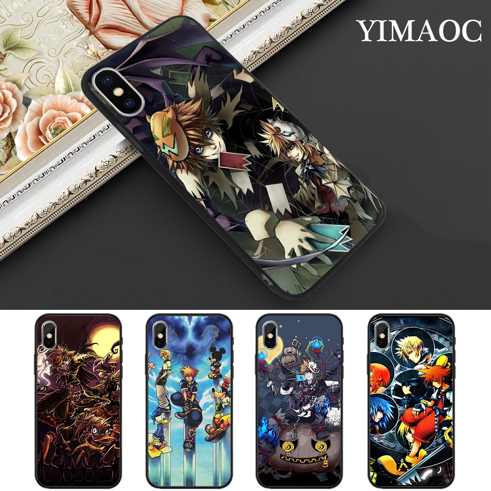 coque iphone xs max kingdom hearts