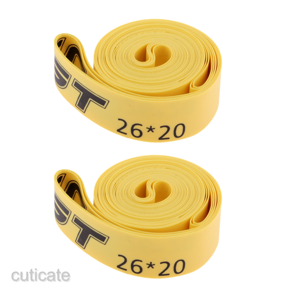 2x 26 29 700c Bike Cycling Road Tire Tyre Liner Inner Tube Protector ^P