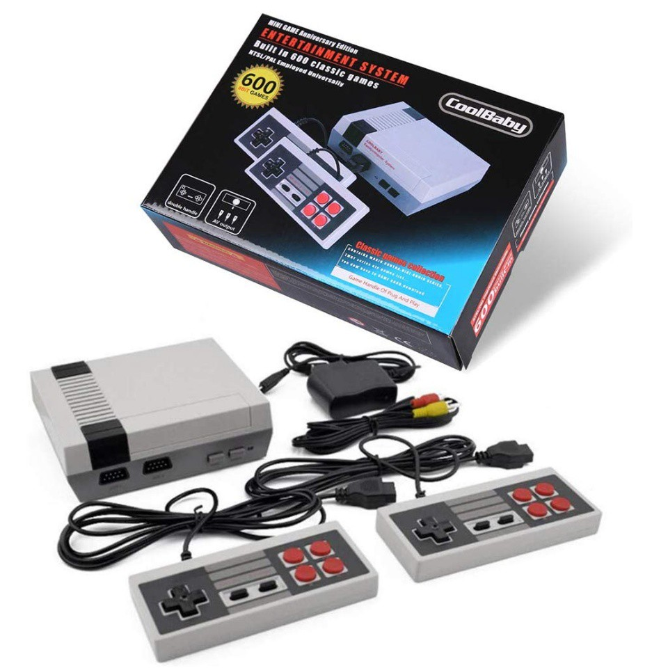 CoolBaby NES Mini HD Video Game Console (600 Games)