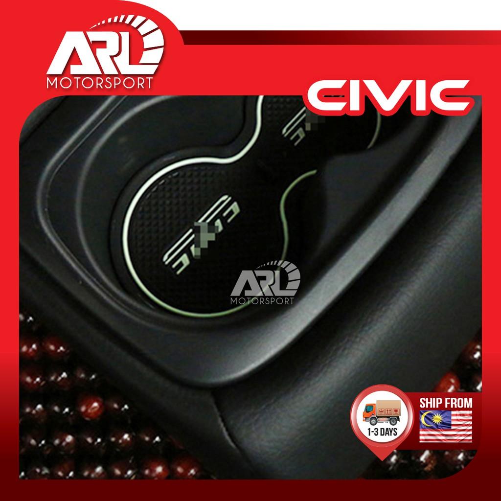 Honda Civic (2016-2020) Rubber Mat Anti Slip Pad With Logo Civic Car Auto Acccessories ARL Motorsport