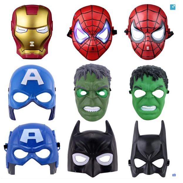 Iron man Black Spiderman Optimus Prime Mask Children/'s Halloween Mask