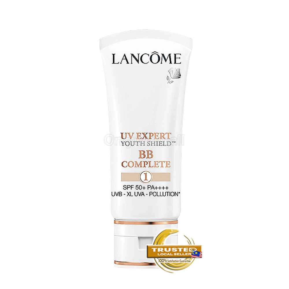 Lancome UV EXPERT BB COMPLETE SPF 50+ PA++++ 30ml (#001 With Free Gift)