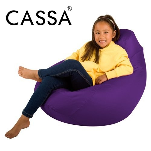 Cool Cassa Super Size Bean Bag Sofa 2 1 Kg Purple Washable Fabric Easy Care Andrewgaddart Wooden Chair Designs For Living Room Andrewgaddartcom