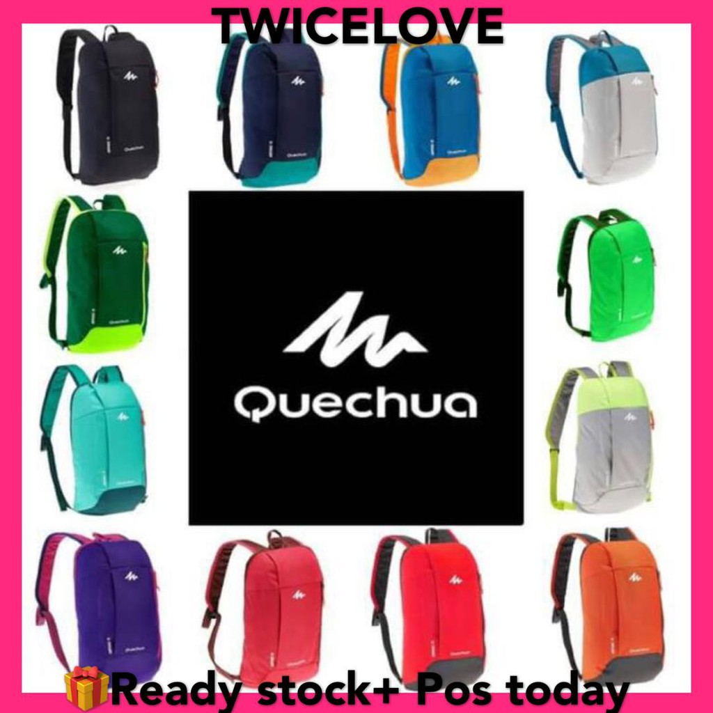 be985b2ba0  7 Colors  Quechua Arpenaz 10L ORIGINAL DECATHLON Leisure Sports Backpack