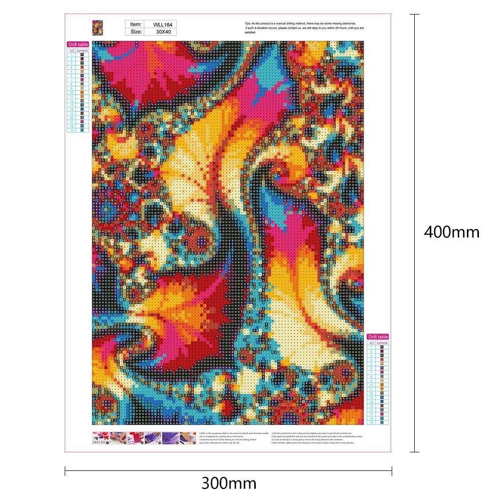 5D DIY Full Drill Diamond Painting Book Shop Cross Stitch Embroidery Mosaic WT7n