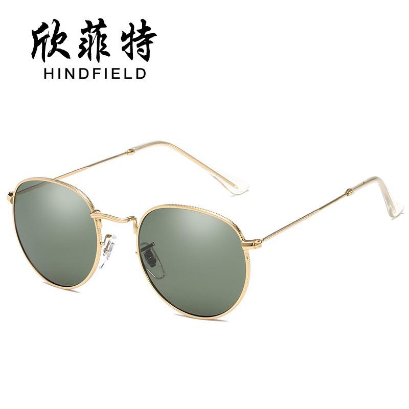 a78e4c5c5 Hin fitow new sunglasses metal retro sunglasses fashion glasses color  shading membrane mirror wholes