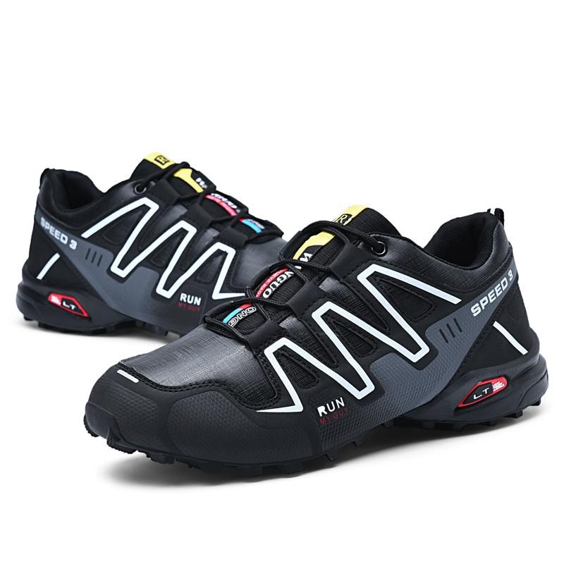 2019 SALOMON Men's Shoes Kasut Sports Shoes Outdoor Hiking Shoes Walking 39 46