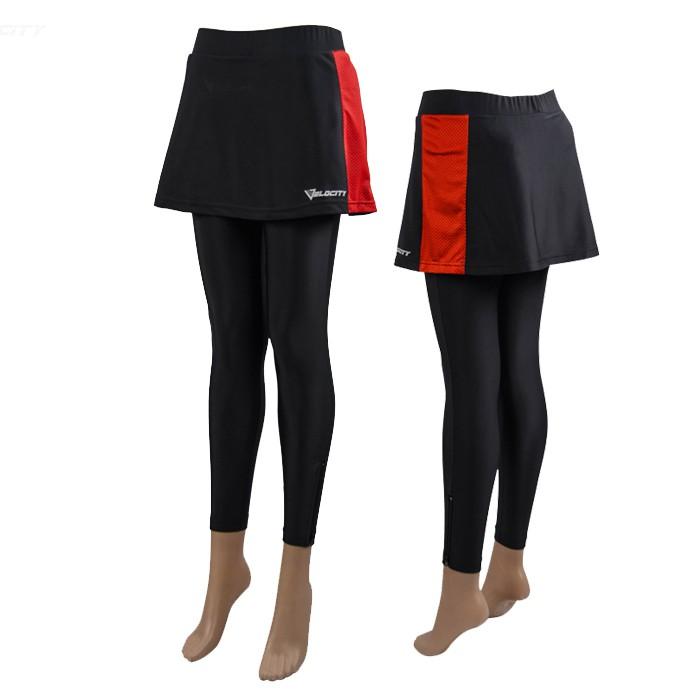 Velocity Women Cycling Padding skirt pant skirt pant gel padding Ladies cycling pant Cycling Skirt Gel Cycling Long Pant