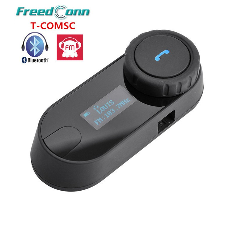2x Intercom LCD Bluetooth Helmet Motorcycle Interphone Headset 800m BT Motorbike