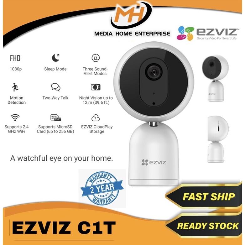 Ezviz Indoor IP Camera C1T - 1080p, Motion Detection, Night Vision up to 12m, Three Sound-Alert Modes