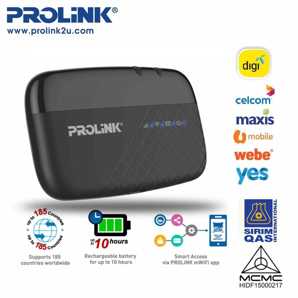 PROLiNK Portable LTE WiFi Hotspot MiFi PRT7011L