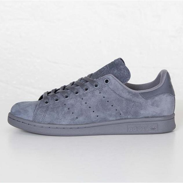 buy popular b0ceb aabd4 Adidas Stan Smith Suede 'Onix Grey'