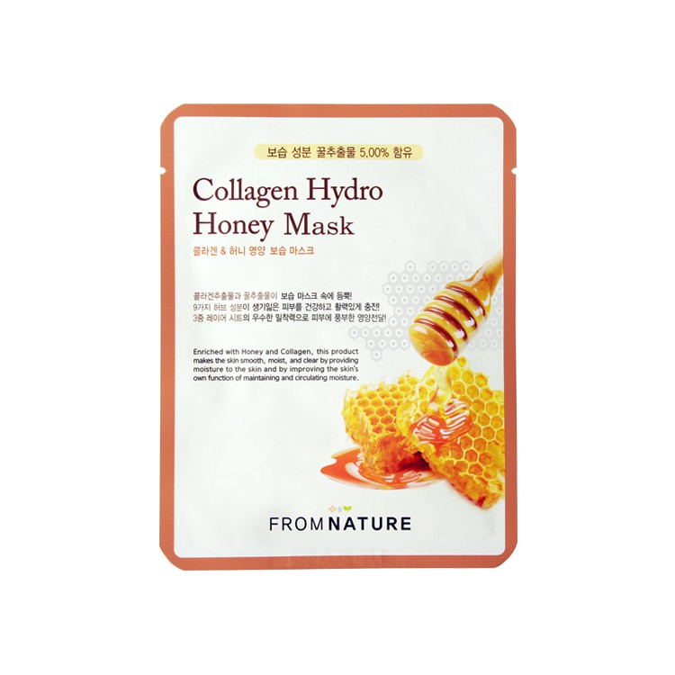 FROMNATURE Collagen Hydro Honey Mask 10pcs