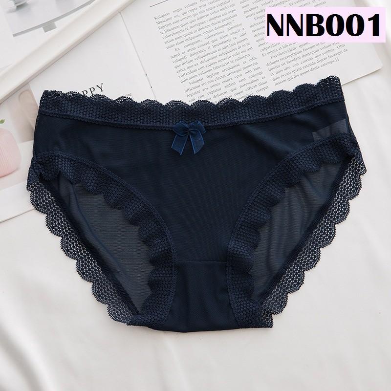 Women Underwear Ladies Panties Soft Silky Lingerie Nightwear Wanita Seluar Dalam Perempuan 性感网纱女士内裤 N001