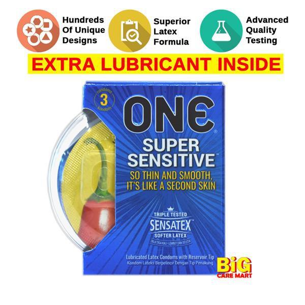 One Condom Super Sensitive 3s + Double Vibrater Bullets