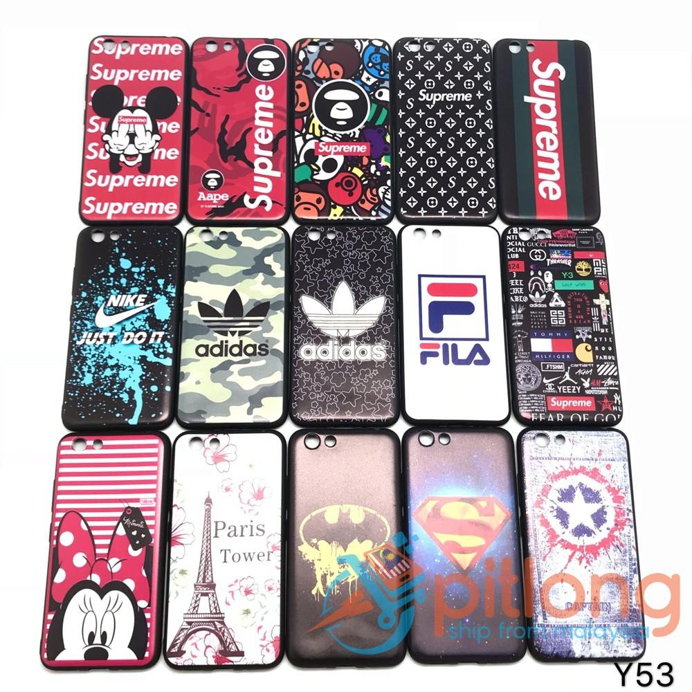 new styles 1dd5d 871ce VIVO Y53 Cartoon Soft Tpu Slim Case