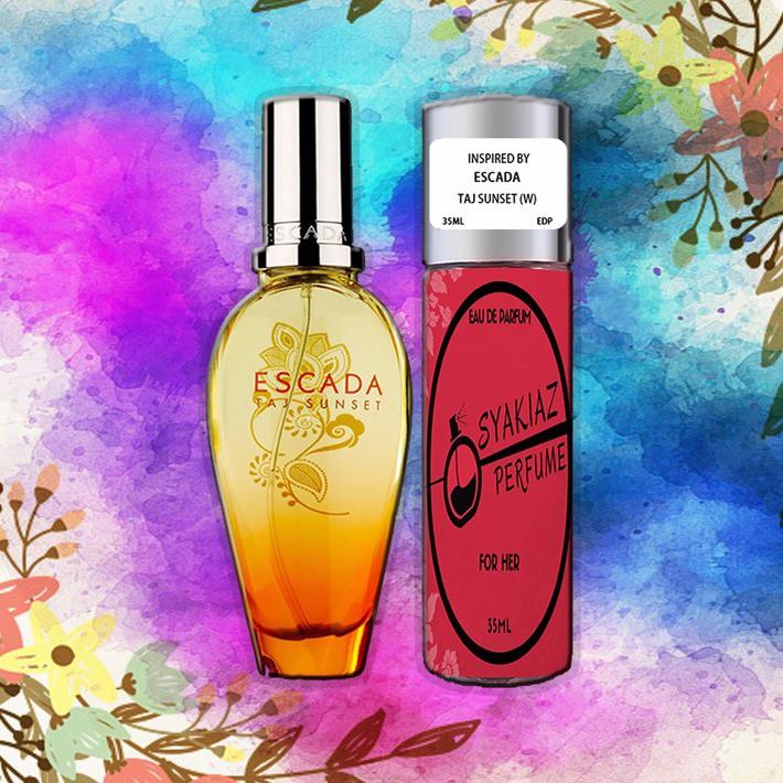 Perfume Escada Taj Sunset Shopee Malaysia