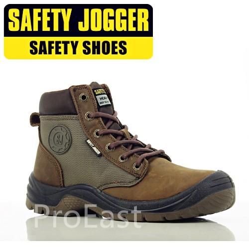 99cf559bb86 SIZE EU42 (UK 8) SAFETY JOGGER DAKAR SAFETY SHOES BROWN