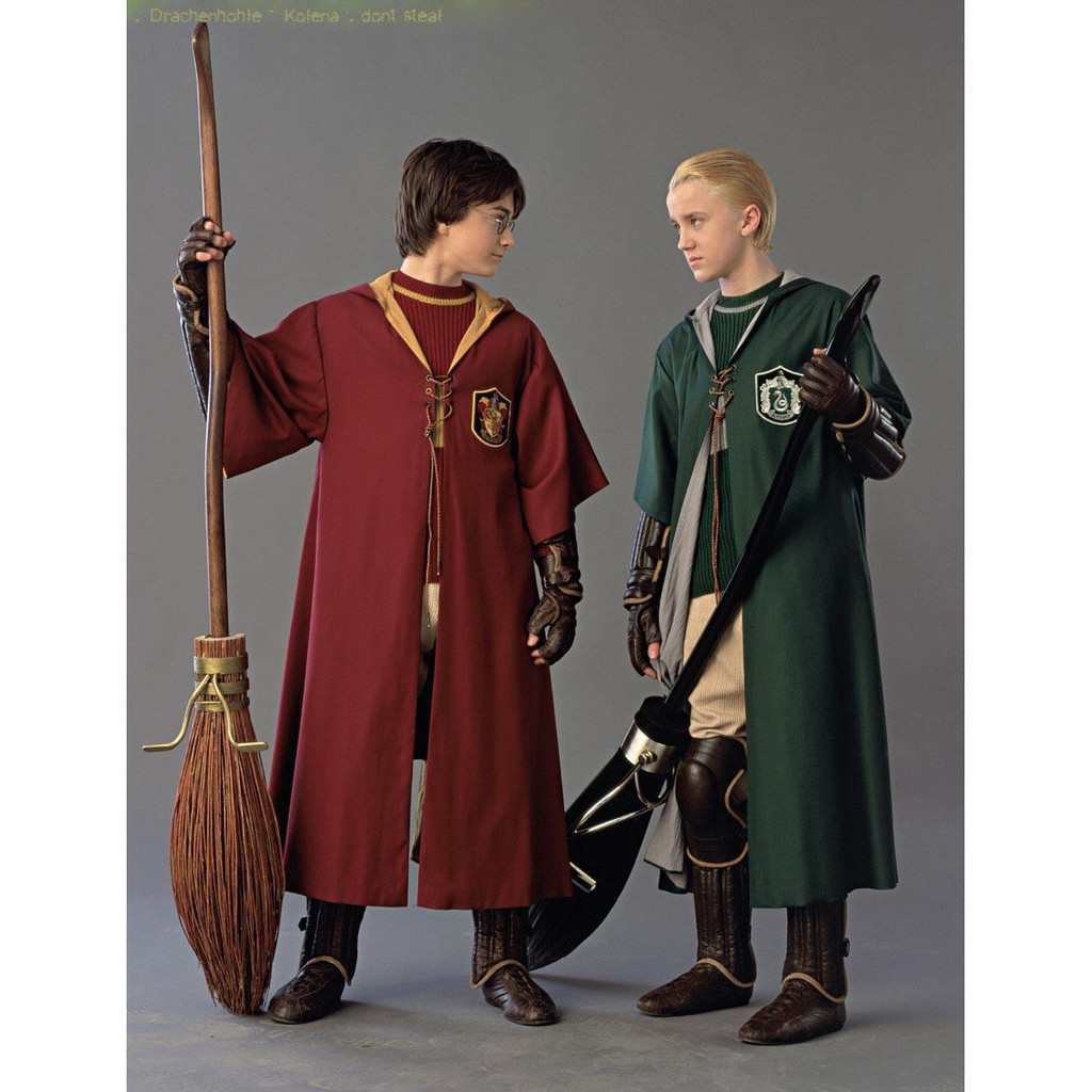 Halloween Cos Parents And Children S Cloak Magic Robe Red Robe Black Robe Costume Harry Potter Glasses Light Magic Wand Shopee Malaysia