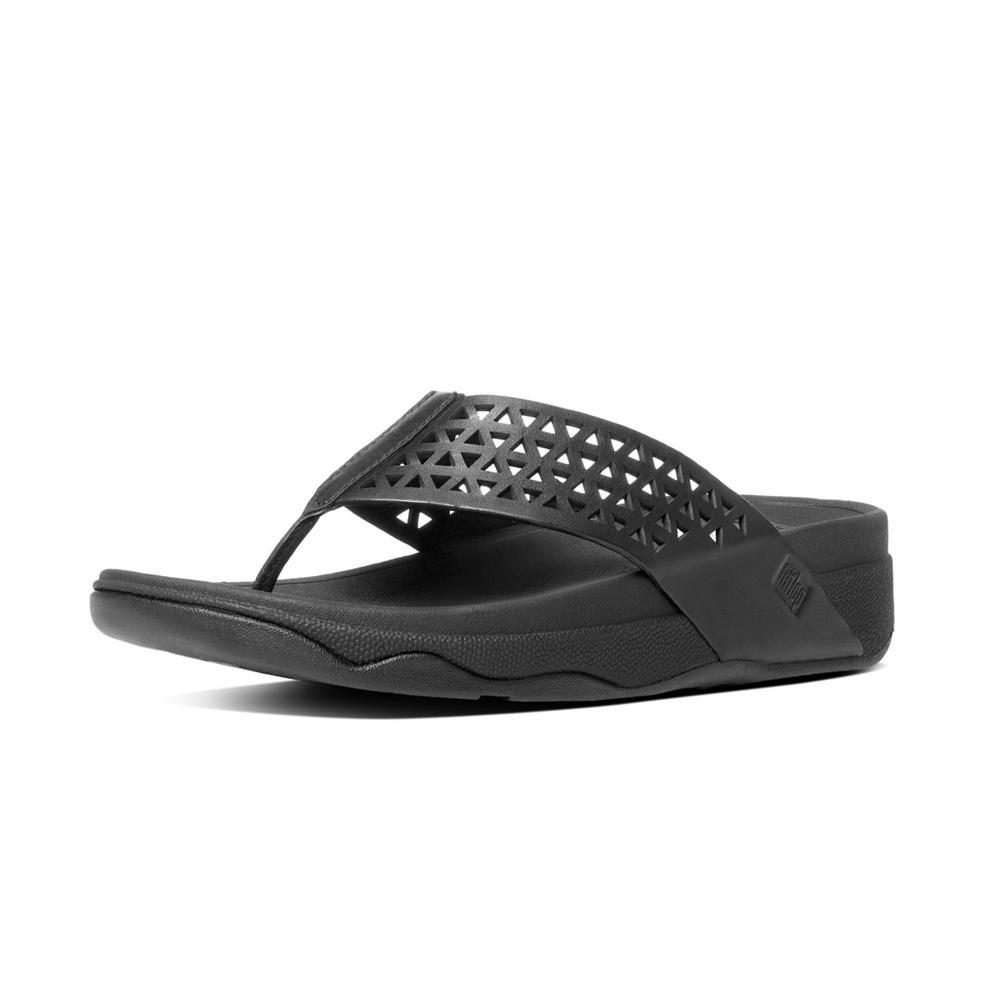 84752a03e2cf Fitflop Welljelly Z Slide - All Black