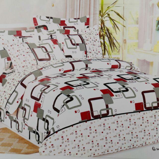 Queen Size Bed sheet 4 in 1