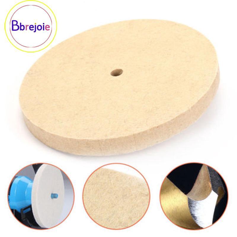 8/'/' 200mm Polishing Buffing Grinding Wheel Wool Felt Disc Pad Rotary Tool DIY