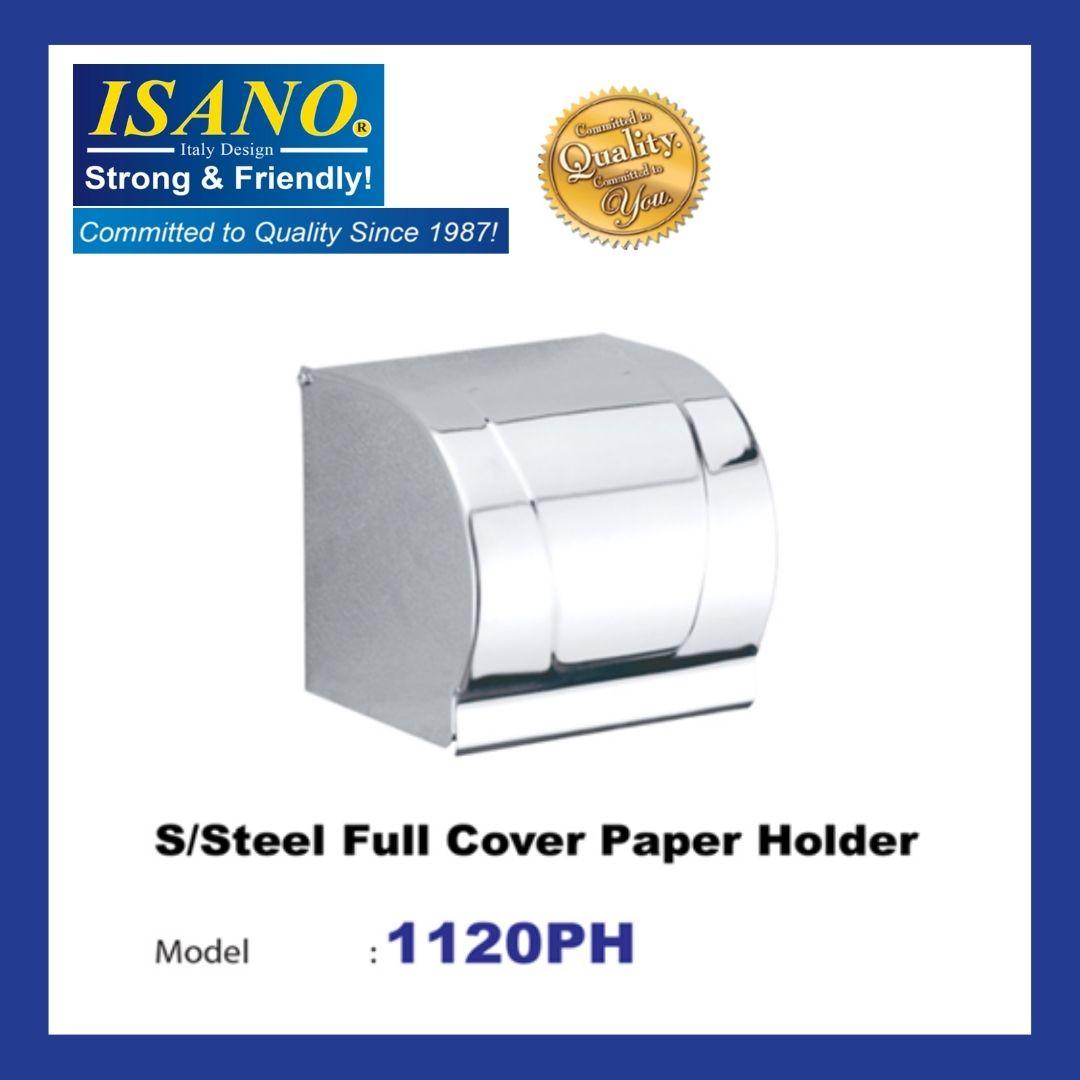 ISANO Stainless Steel Full Cover Paper Holder 1120PH