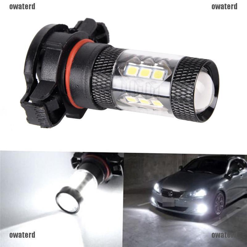 2X White High Power 6000K 144 SMD 5202 H16 LED Driving Fog DRL Light Bulbs Lamps