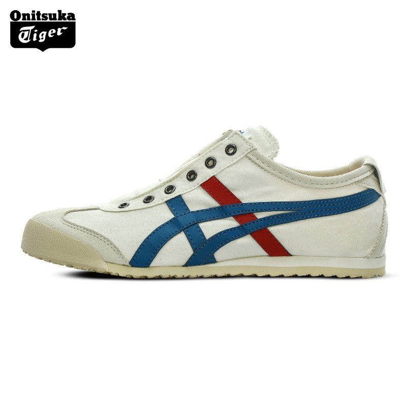 super popular 69761 bac35 Onitsuka Tiger Unisex Shoes Slip-on Outdoor Shoes No shoelaces Sneakers  TH1B2N