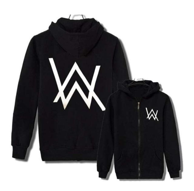 Ready Stock! Alan Walker Sweater Coat free shipping