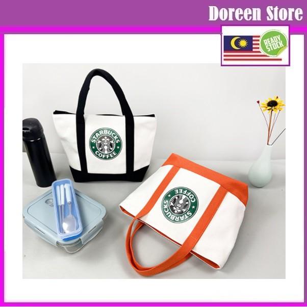 Starbucks Japanese Style Fashion Shopping Bag / Tote Bag Type 2