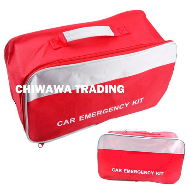 Car Emergency Kit Medicine Storage Bag Boot Case Pouch Keeper Organizer