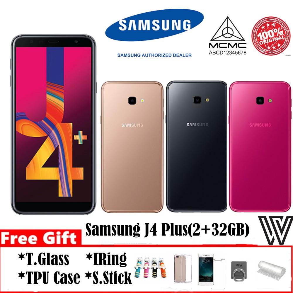 e2d08816b4 100% Original Samsung Galaxy J4 Plus (2GB+32GB)  Free Gift  1 Year Warranty