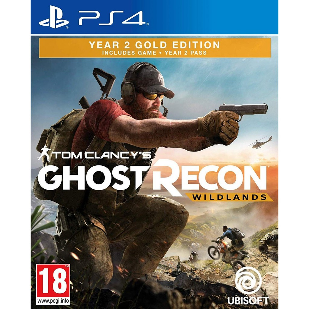 PS4 Tom Clancy's Ghost Recon: Wildlands Yr 2 Gold (English/Chinese) * 火線獵殺:  野境 *