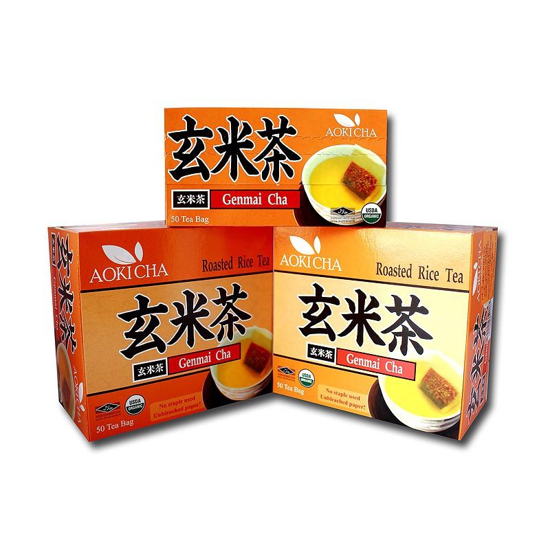 ชาเขียวข้าวคั่วญี่ปุ่น อาโ