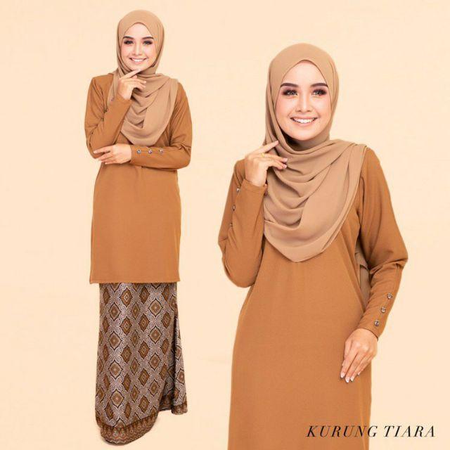 5876a787fb29 5 Warna Lessa Kurung Muslimah Wear [Mesra Wudhu] - New Raya Design 2019    Shopee Malaysia