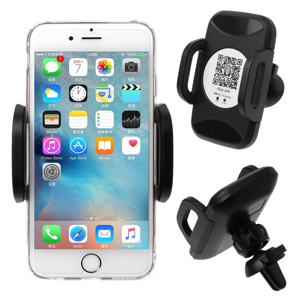 utake10W Automatic IR Clamping Smart Phone Mount Holder for Samsung iPhone | Shopee Malaysia