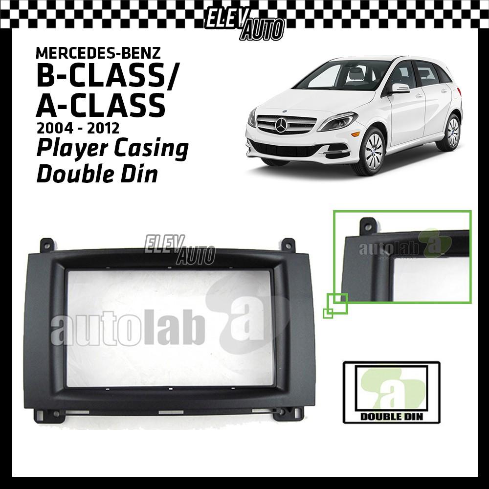 """Installation Dash Kit Player Casing Double Din (178mm/7"""") Mercedes-Benz B-Class / A-Class 2004-2012"""