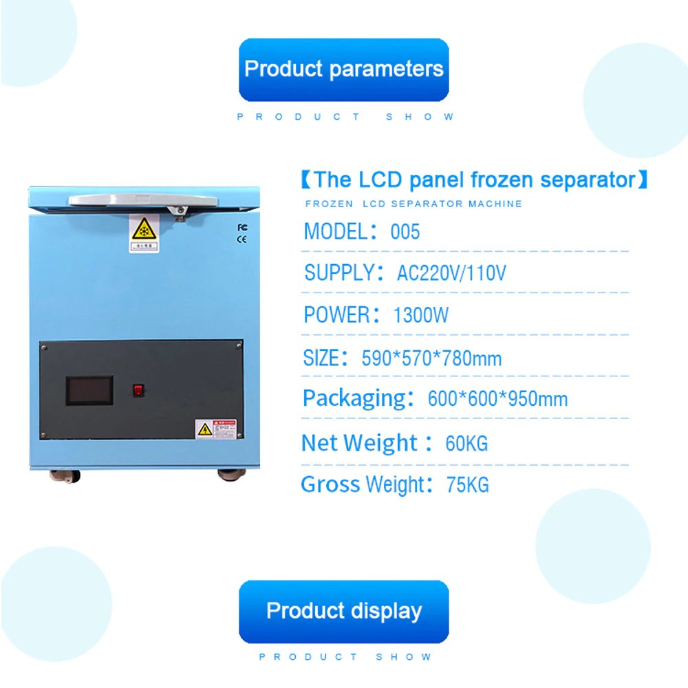 -180C LCD Freezing Machine For Mobile Phone Repair