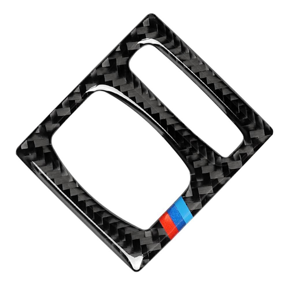 4pcs Carbon Fiber Inner Door Panel Trim Cover Sticker for BMW Serie 5 F10 11-17