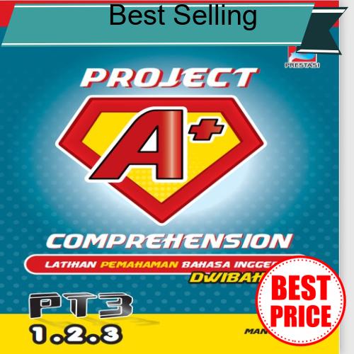 Great Discount Project A+ English Reading Comprehension PT3 & SPM BM & BI Dwibahasa Dual Language (Ready Stock)